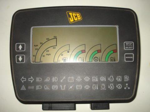 Instrumentenpaneel JCB