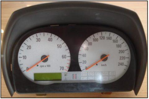 Speedster: hapert / tot volledig uitgedoofd.
