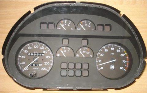 Alfa Romeo Spider Dashbord
