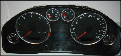 Tableau de bord A6 (1997-2004)