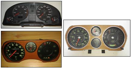 Tableau de bord Audi 80-90-100-200