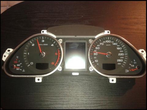 Tableau de bord Audi A6-Q7 (2005-2009)