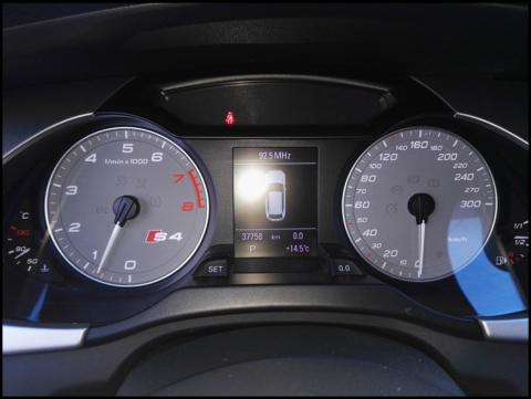 Tableau de bord Audi S4